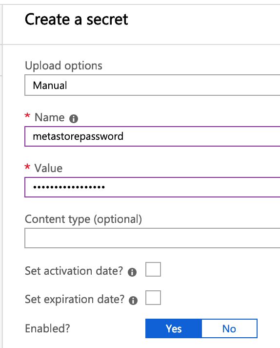 Securing access to shared metastore with Azure Databricks - Cloud