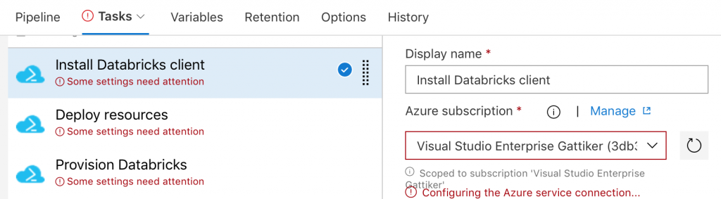 Tutorial: DevOps in Azure with Databricks and Data Factory
